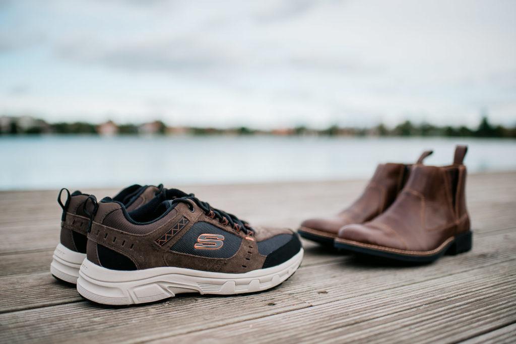 bekvama sneakers och kangor i mustig bruna farger som passar perfekt till hosten fran Rieker- Bongvings.se
